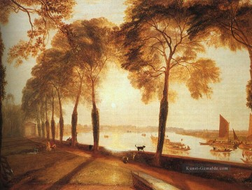 Teich See Wassfall Werke - MortSee Terrace 1826 Romantische Landschaft Joseph Mallord William Turner