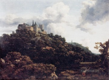 Berg Werke - Castle Landschaft Jacob Isaakszoon van Ruisdael Berg