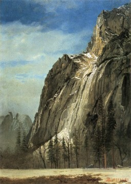 Berg Werke - Cathedral Rocks A Yosemite View Albert Bierstadt Berg