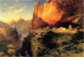 Cliff Dwellers Landschaft Thomas Moran