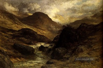 Berg Werke - Gorge In The Berge Landschaft Gustave Dore