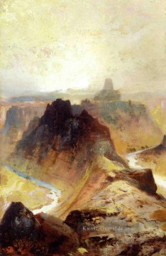 Berg Werke - Grand Canyon Utah Landschaft Thomas Moran Berge
