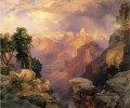 Grand Canyon mit Regenbogen Landschaft Thomas Moran Berge