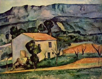Berg Werke - Houses in Provence near Gardanne Paul Cezanne Berg