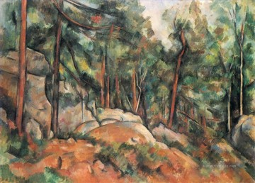 Berg Werke - In the Forest Paul Cezanne Berg