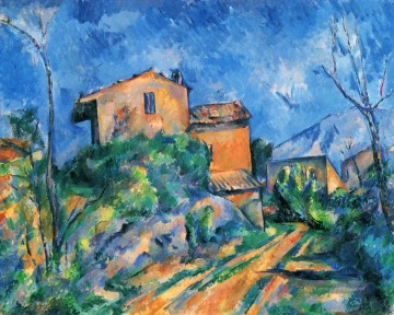 Berg Werke - Maison Maria with a View of Chateau Noir Paul Cezanne Berg