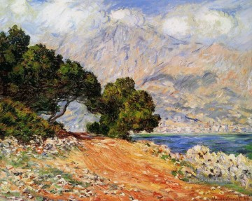 Berg Werke - Meton Seen from Cap Martin Claude Monet Berg