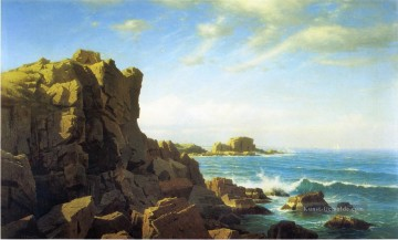 Berg Werke - Nahant Rocks Landschaft William Stanley Haseltine Berg