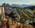 Felsen bei Estaque Paul Cezanne Berg