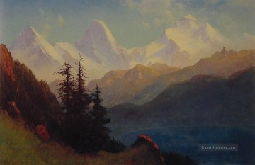 Berg Werke - Splendour of the Grand Tetons Albert Bierstadt Berg