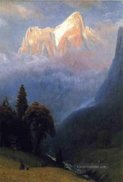 Berg Werke - Storm Among the Alps Albert Bierstadt Berg