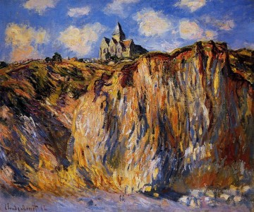 Berg Werke - The Church at Varengeville Morning Effect Claude Monet Berg