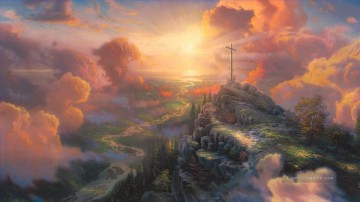 Berg Werke - The Cross Thomas Kinkade Berg