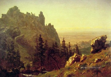 Berg Werke - Wind River Country Albert Bierstadt Berg