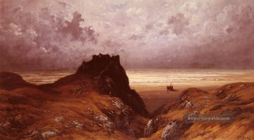 Berg Werke - Castle On The Isle Of Skye Landschaft Gustave Dore Berg