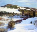 Cornish Hills Szenerie Willard Leroy Metcalf Berg