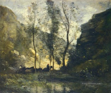Corot Galerie - LES Contrebandiers Jean Baptiste Camille Corot berg