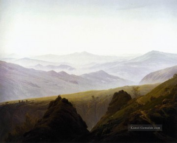 Berg Werke - Morning In The Berge Romantic Landschaft Caspar David Friedrich