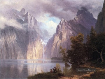Berg Werke - Scene in the Sierra Nevada Albert Bierstadt Berg