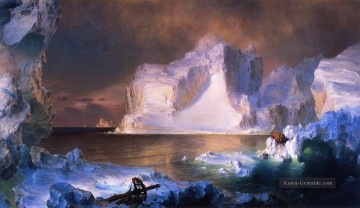 Berg Werke - The Icebergs scenery Hudson River Frederic Edwin Church Berg