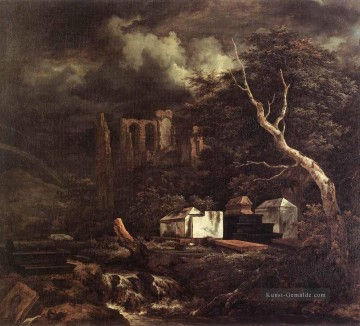Berg Werke - The Jewish Cemetary Landschaft Jacob Isaakszoon van Ruisdael Berg