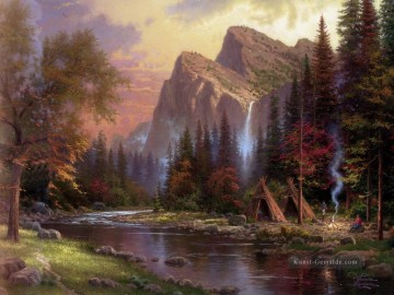 Berg Werke - The Berge Declare His Glory Thomas Kinkade