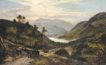 Berg Werke - The Path Down to the Lake North Wales Landschaft Sidney Richard Percy Berg