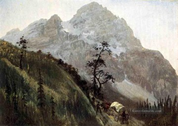 Berg Werke - Western Trail the Rockies Albert Bierstadt Berg