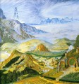 garlands of fantasy middle earth tolkiens Landschaft 2 Berg