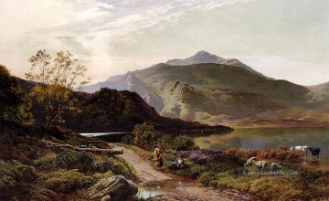 Berg Werke - A Rest On The Roadside Landschaft Sidney Richard Percy Berg