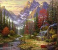 The Good Life Thomas Kinkade Berg
