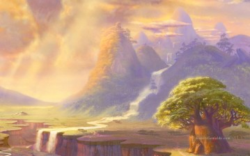 Berg Werke - The Lion King part Thomas Kinkade Berg