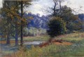 Along the Creek aka Zionsville Impressionist Indiana Landschaften Theodore Clement Steele