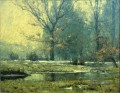 Creek im Winter Impressionist Indiana Landschaften Theodore Clement Steele