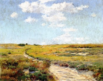 Hill Kunst - Sunny Afternoon Shinnecock Hills Impressionismus William Merritt Chase Szenerie