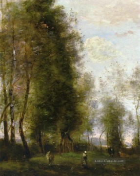 Corot Galerie - A Shady Resting Place auch bekannt als Le Dormoir Jean Baptiste Camille Corot