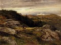 Ein Welsh Hillside Path Landschaft Benjamin Williams Führer