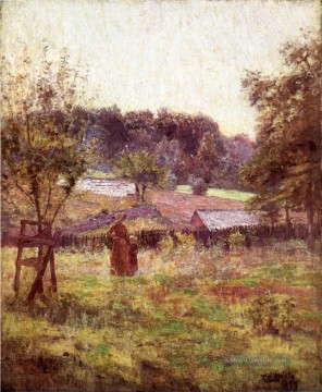 landschaften - At Noon Day Impressionist Indiana Landschaften Theodore Clement Steele