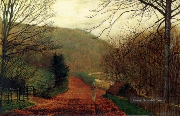 Stadtlandschaften Kunst - Valley Forge Scarborough Stadtlandschaften Landschaft John Atkinson Grimshaw