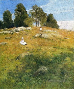 Julian Malerei - Sommernachmittag Shinnecock Landschaft Julian Alden Weir