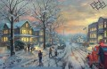 A Christmas Story Thomas Kinkade Winter