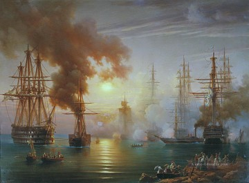 Kriegsschiff Seeschlacht Werke - Russian Black Sea Fleet after the battle of Synope 1853
