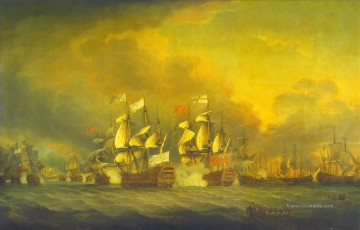 Kriegsschiff Seeschlacht Werke - The battle of the saints 1782