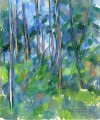 In der Woods Paul Cezanne