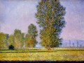 Landschaft with Figures Giverny Claude Monet Wald