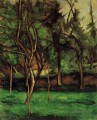 Orchard Paul Cezanne Wald
