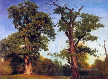 Gehölz Gemälde - Pioneers of the Woods Albert Bierstadt