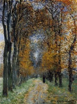 The Avenue Claude Monet Wald Ölgemälde