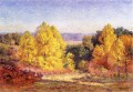 The Poplars Impressionist Indiana Landschaften Theodore Clement Steele Wald