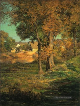 Indiana Malerei - Thornberrys Pasture Brooklyn Indiana Landschaft John Ottis Adams Wald